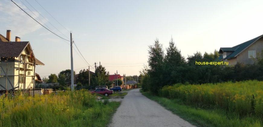 Участок с коммуникациями и фундаментом, рп. Заокский