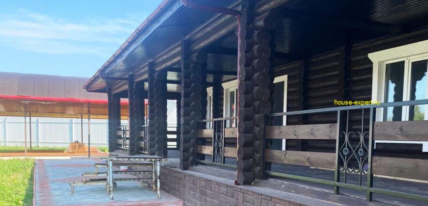 Новый деревянный дом 300 кв.м в КП Велегож-парк, Заокский район, уч., 30 сот.